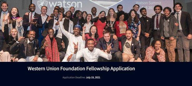 western-union-foundation-fellowship