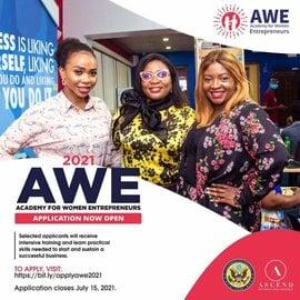 WOMEN ENTREPRENEURS (AWE) 2021