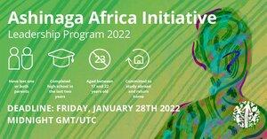 ashinaga-africa-leadership-program