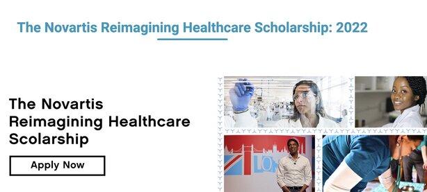 novartis-reimagining-healthcare-scholarship-2022