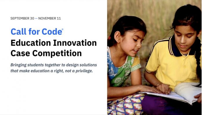 call-for-code-education-innovation-case-competition