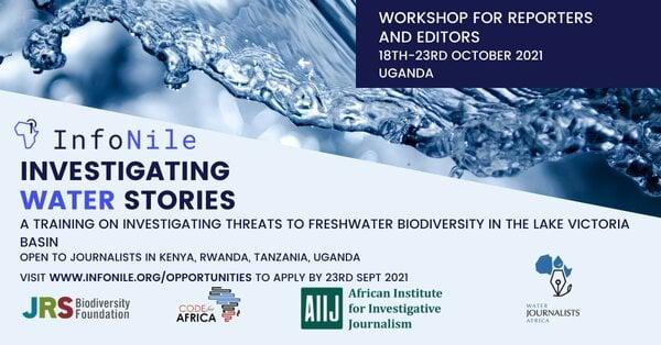 infonile-investigating-water-stories-training-workshop