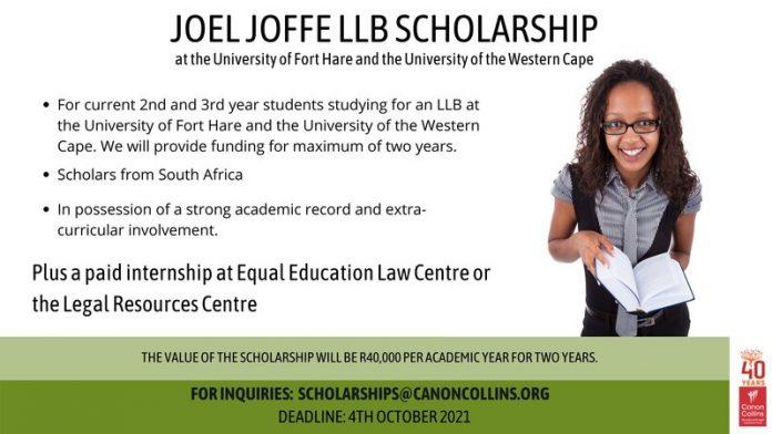 joel-jeffe-scholarships-2022