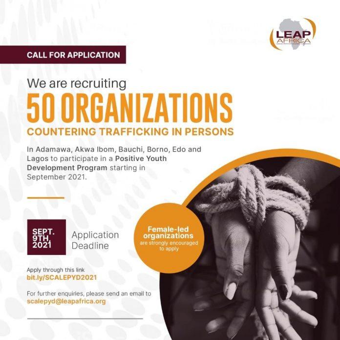 LEAP Africa SCALE Positive Youth Development Program